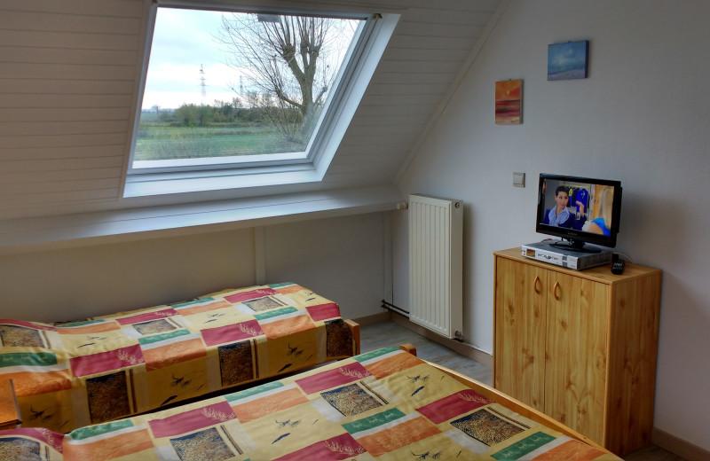Guest room at Ammans B&B.