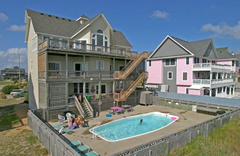 Pool View at Hatteras Realty