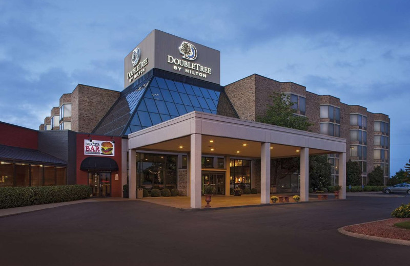 Exterior view of Doubletree Hotel Johnson City.