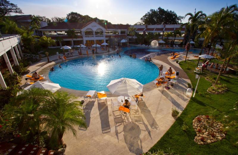 Outdoor pool at Los Tajibos.