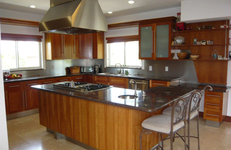 Rental kitchen at Keys Holiday Rentals, Inc.
