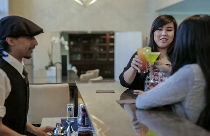 Bar at Cupertino Hotel.