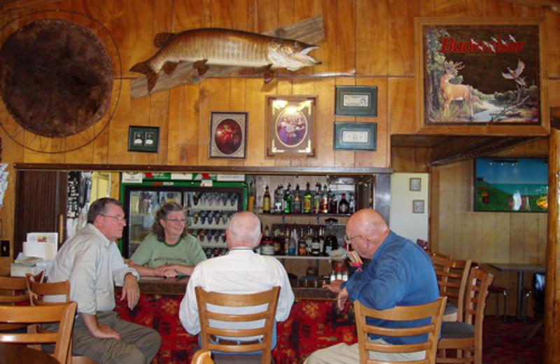 Family gatherings at Angle Inn Lodge.