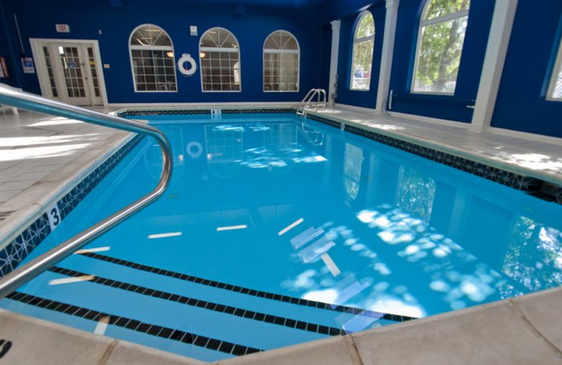 Indoor pool at Marylander Condo Hotel.