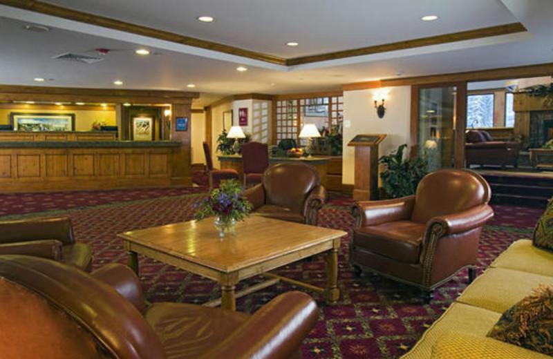 Resort lobby at The Charter at Beaver Creek.