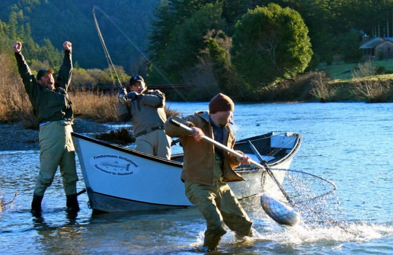 Fishing in the Coquille River