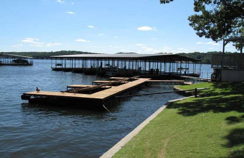 Marina view at Sunset Inn Resort.