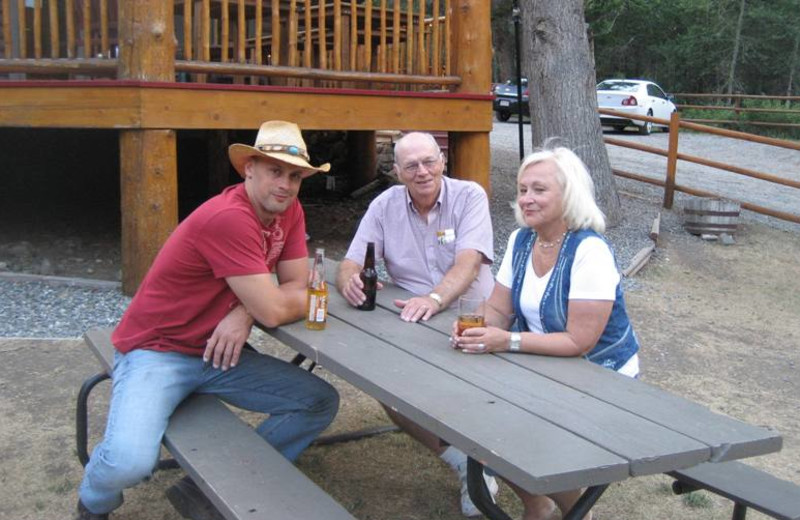 Outdoor Seating at Bill Cody Ranch