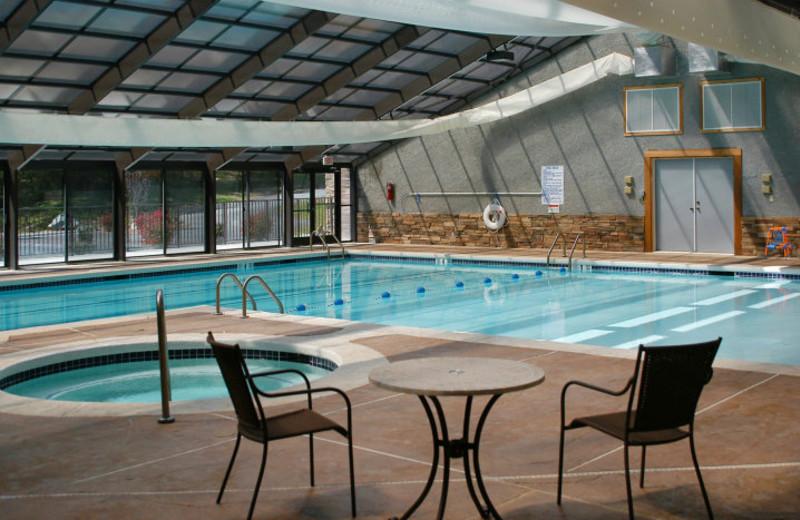 Indoor Pool at Foscoe Rentals