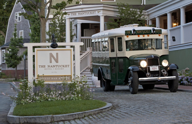 Exterior view of The Nantucket Hotel and Resort.