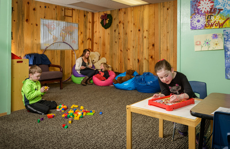 Kids club at Alta Lodge.
