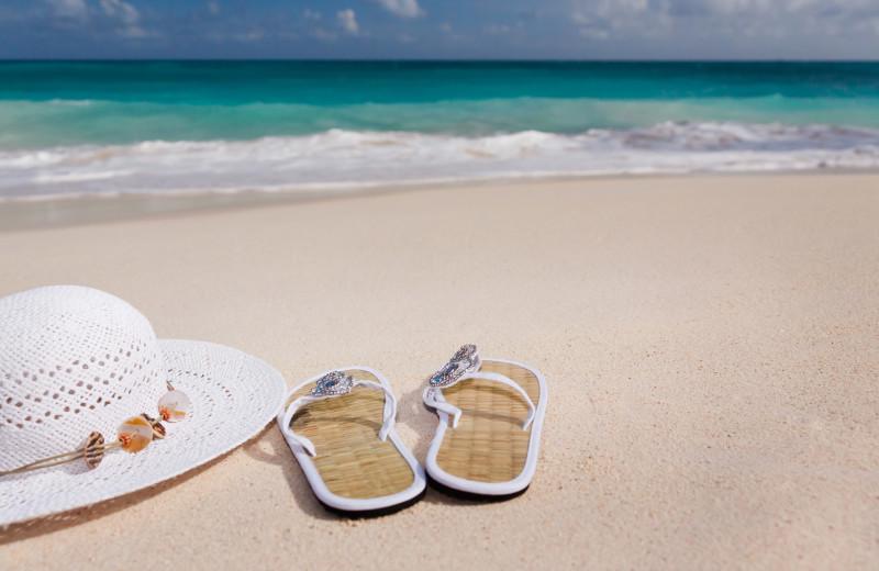 Beach at CNE Vacation Rental.