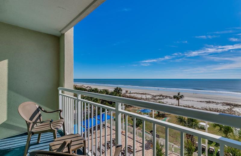 Balcony at Dunes Village Resort.