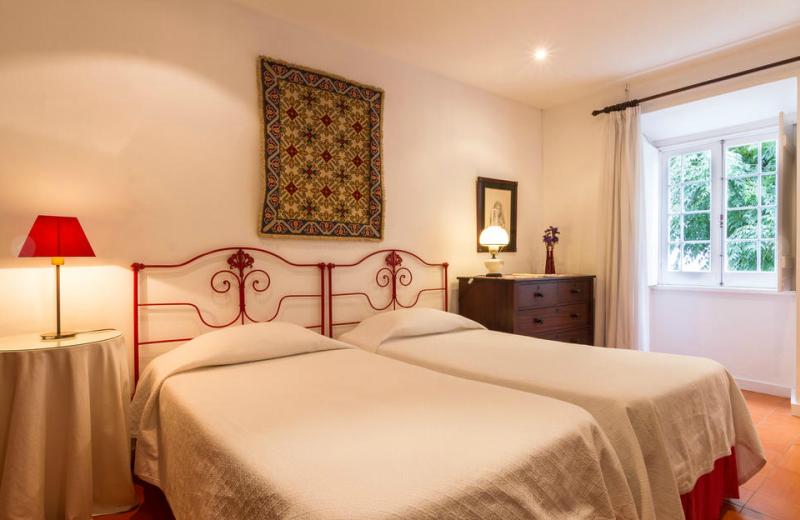 Guest room at Quinta de Sao Caetano.