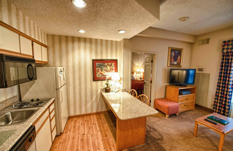Suite Interior at Homewood Suites