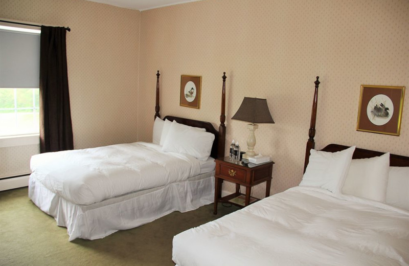 Guest room at Water Gap Country Club.