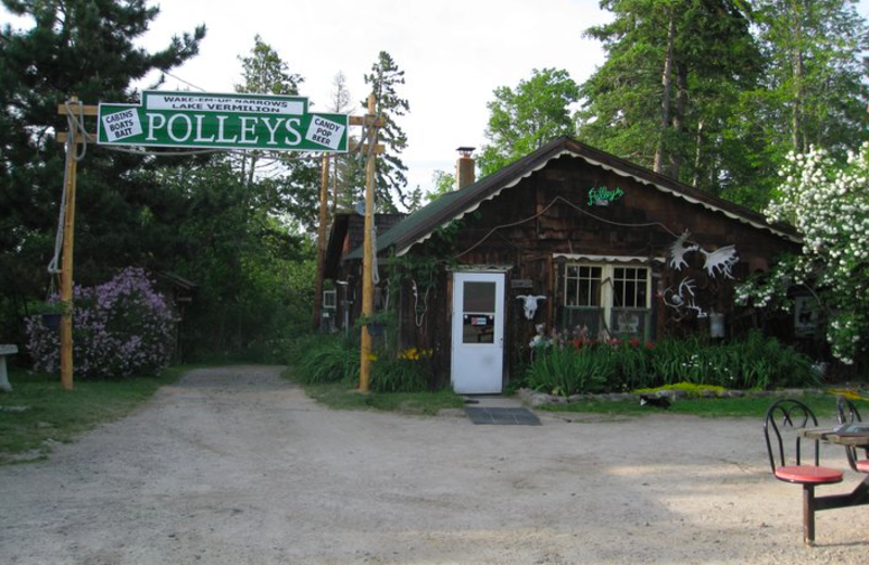 Resort View at  Polley's Resort