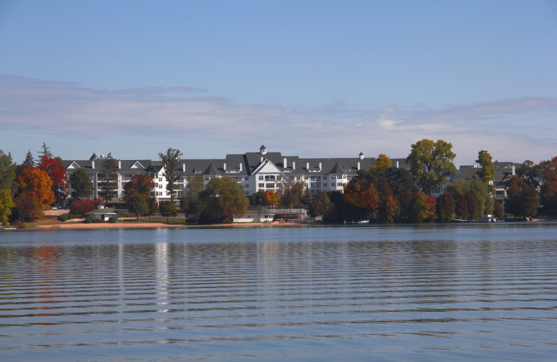 Lakeside view of The Osthoff Resort