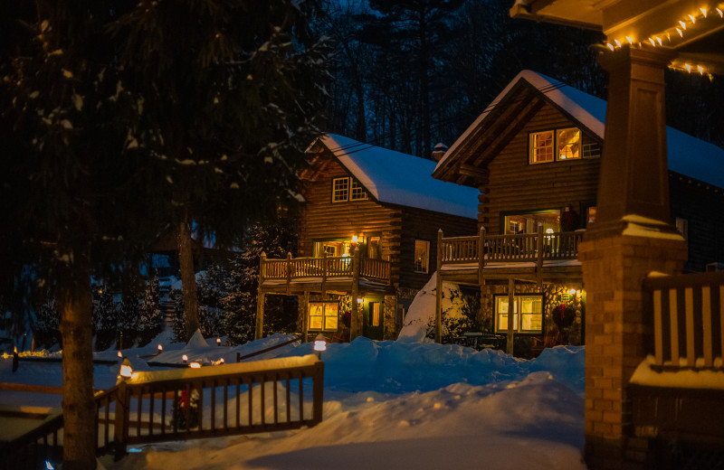 Winter at Trout House Village Resort.