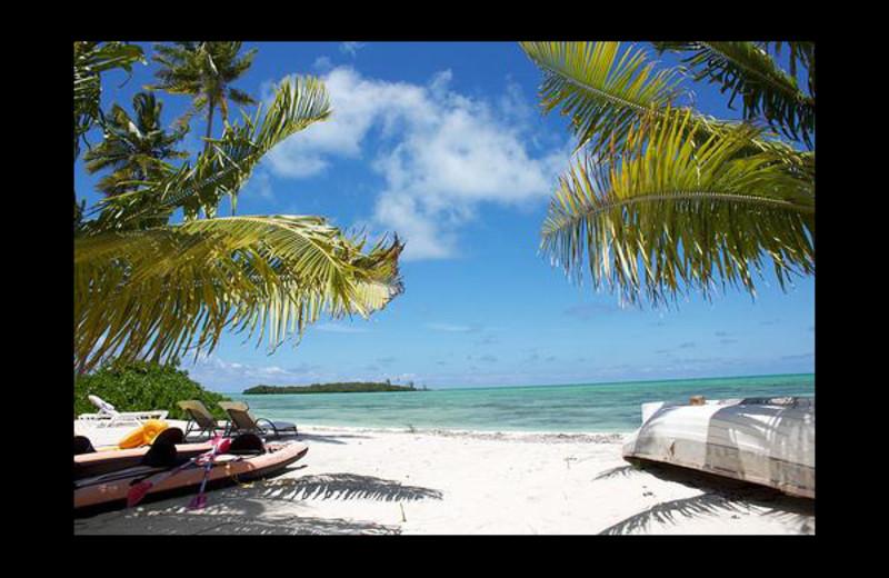 Beach at Seascape Inn.
