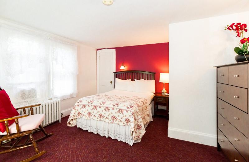 Guest room at Deerfield Spa.