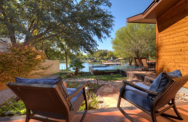 Rental patio at Villa Manana.