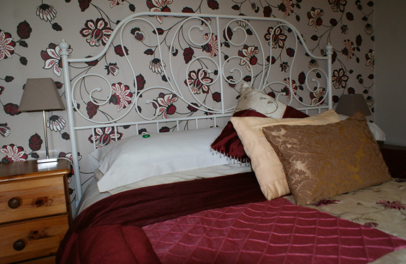Guest room at Ardmeanach House.