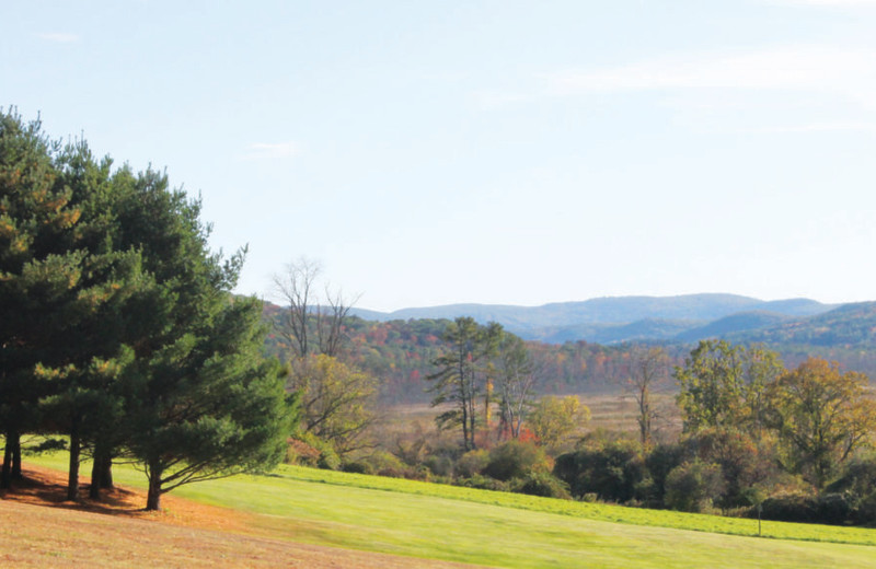 Mountains at Red Lion Inn.