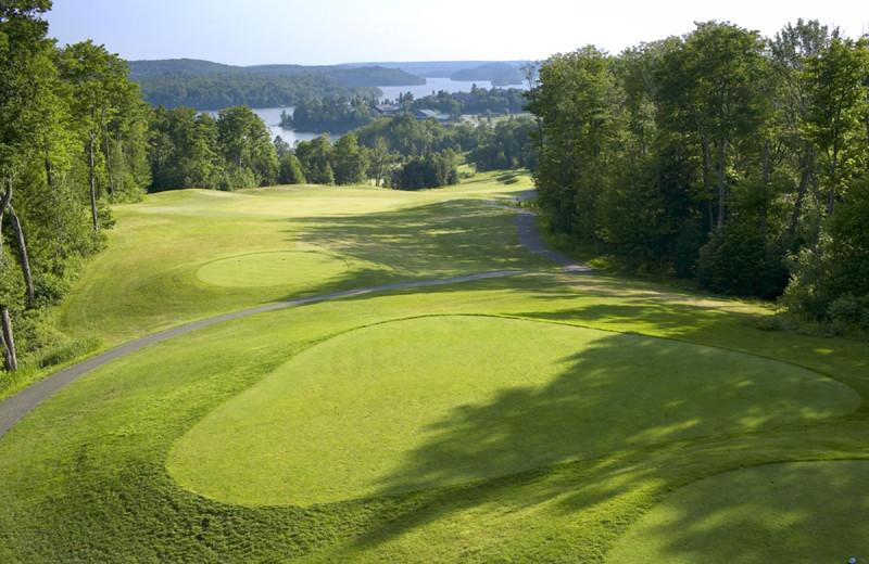Golf course at Deerstalker Resort.
