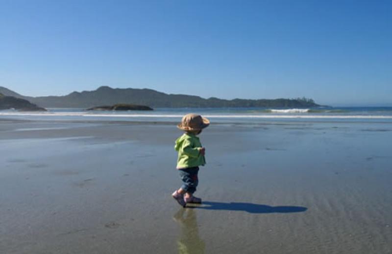 Beach at Tofino Vacation Rentals.