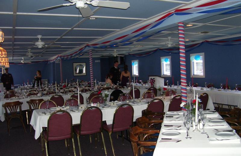 Party at Jamestown Resort and Marina.