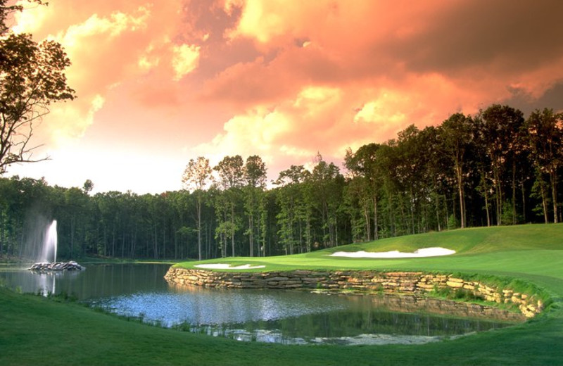 Golf Course at The Resort at Glade Springs