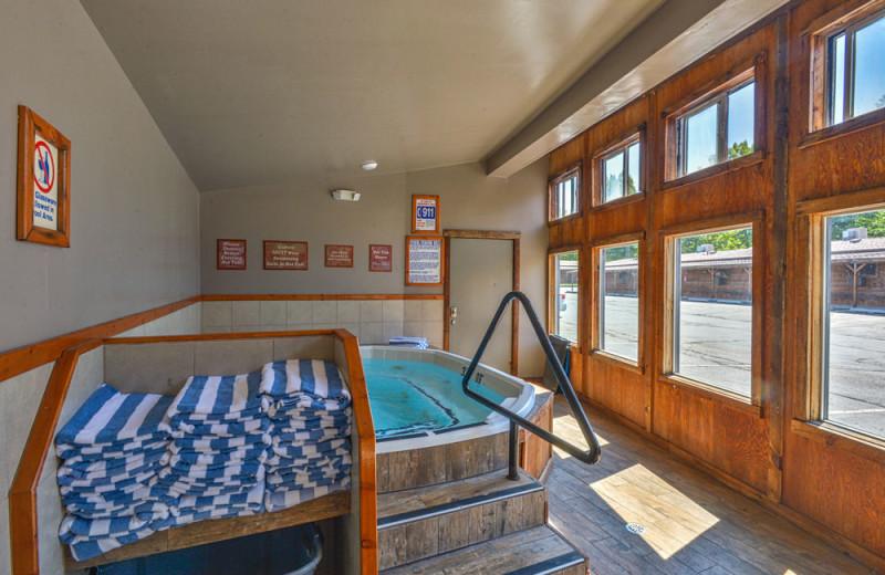 Indoor pool at Redstone Inn.