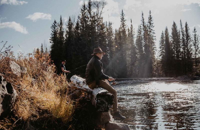 Scenic view at Big Creek Lodge.