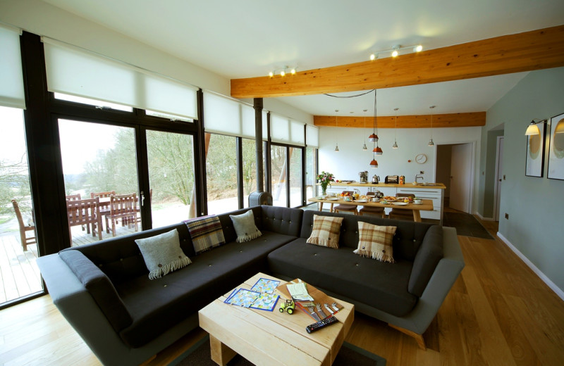 Cottage living room at Yorkshire Dales.