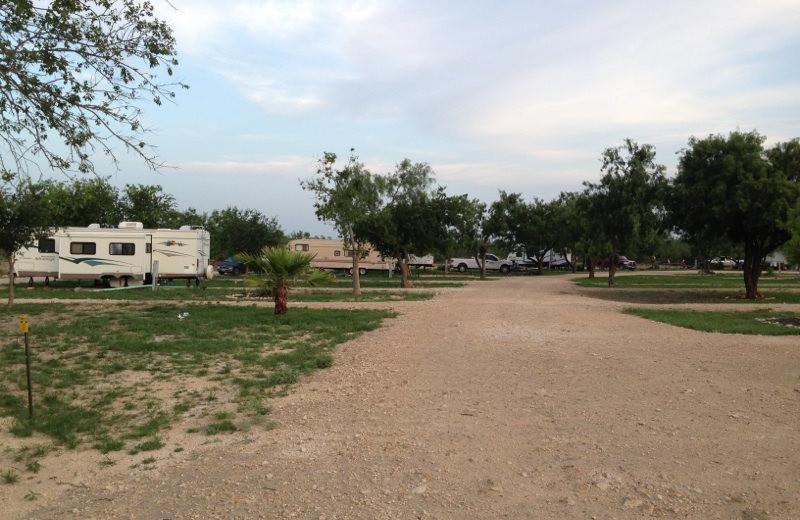 RV resort at Spanish Dagger Ranch.