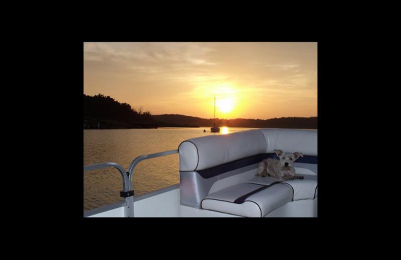 Boating at FishUn Time Resort.