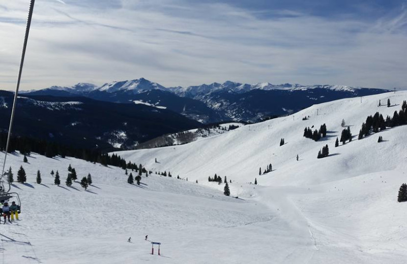 Skiing at Westwind at Vail.