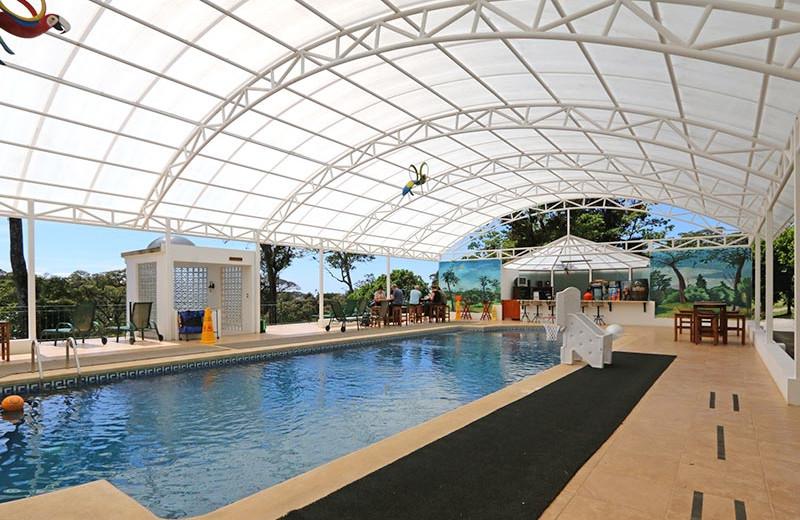 Pool at Hotel Fonda Vela.