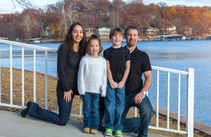Family at Point Randall Resort.