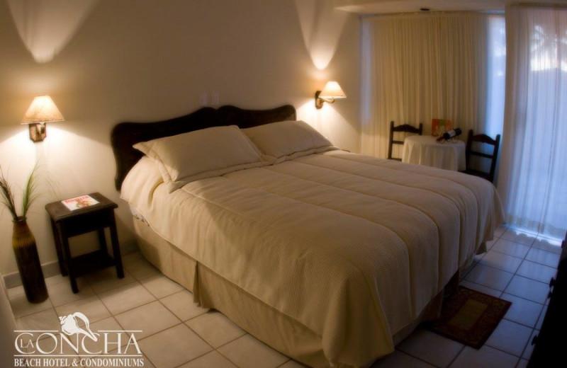 Guest room at La Concha Beach Resort.