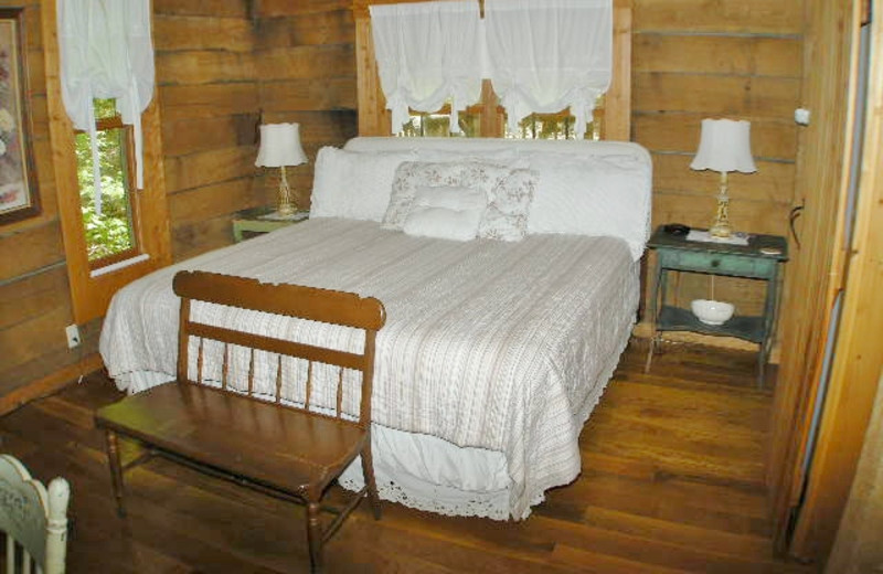 Guest room at Golden Pond Resort.