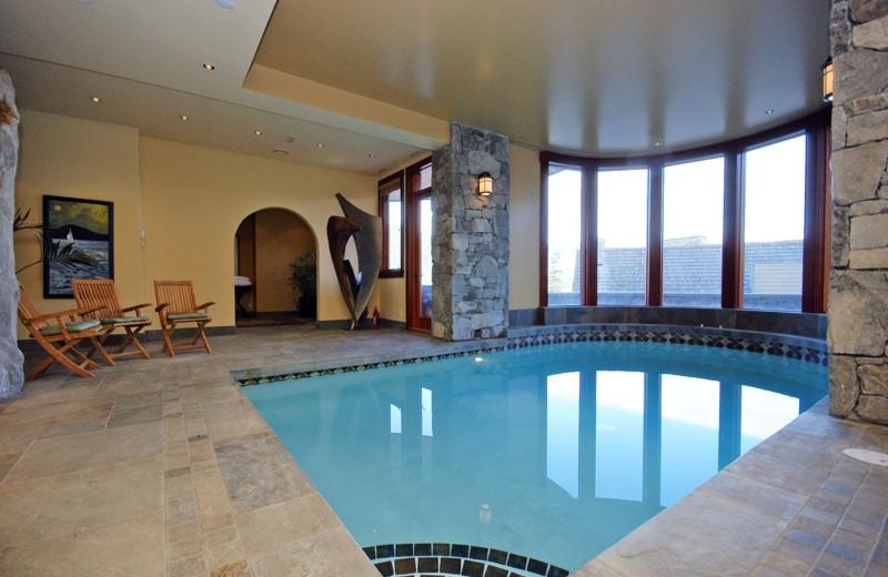 Rental pool at Aloha Whistler.