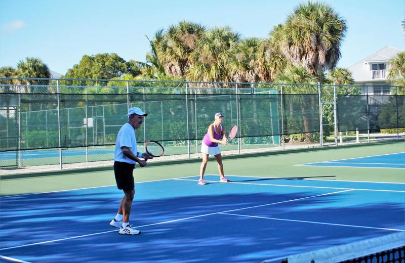 Tennis at Palm Island Resort.