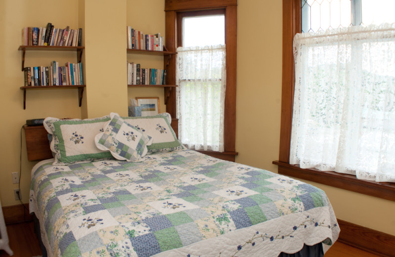 Guest room at O'Leary's Bed & Breakfast.