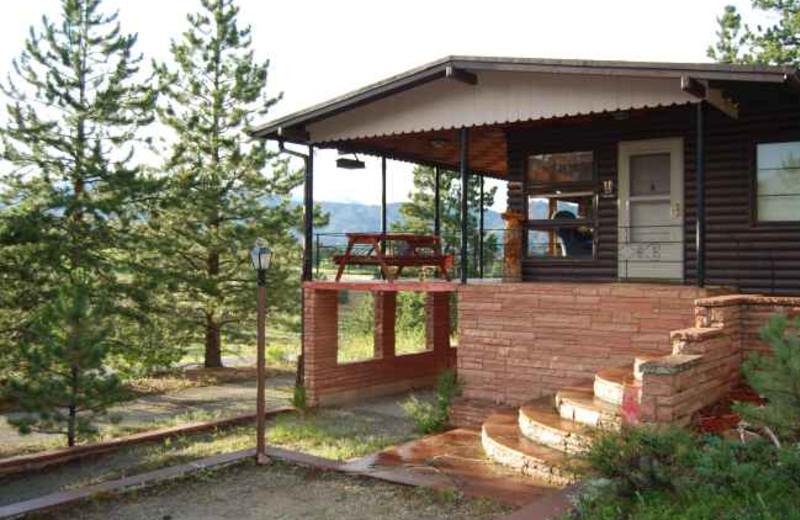 Cabin exterior at Range Property Management.