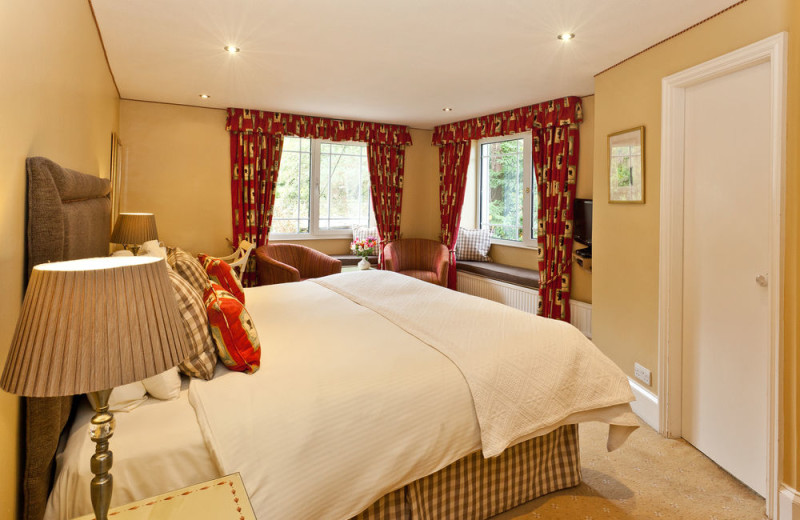 Guest room at Rothay Manor.