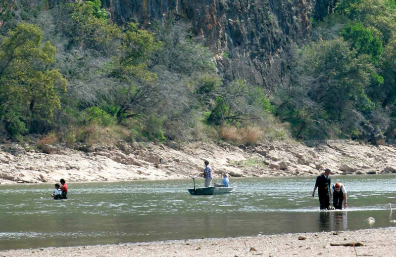 Fishing at Colorado Bend State Park near BEST WESTERN Plus Lampasas.