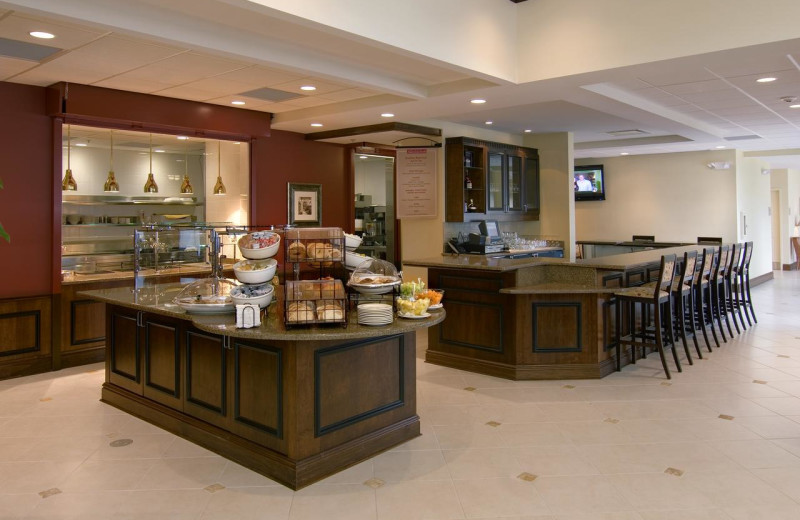 Breakfast at Hilton Garden Inn Cleveland East/Mayfield Village.