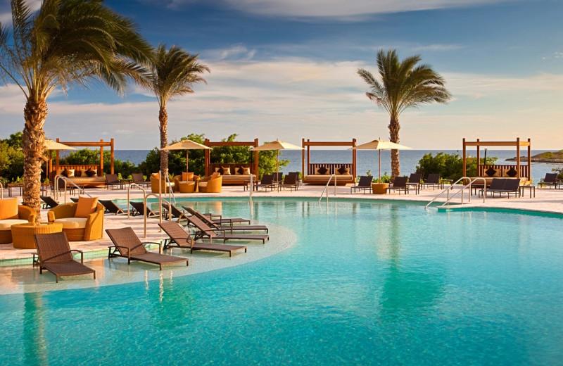 Outdoor pool at Hyatt Regency Curacao Golf Resort, Spa and Marina.